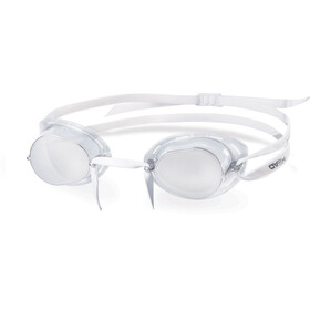 Head Racer Lunettes de natation Mirrored, silver - smoke black